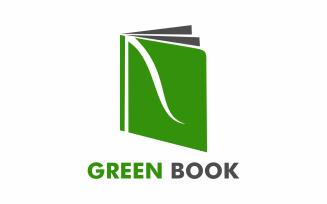 Green Book Logo Template