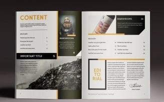 Multipurpose 4 Magazine Template