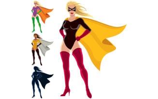 Superhero - Female - Illustration