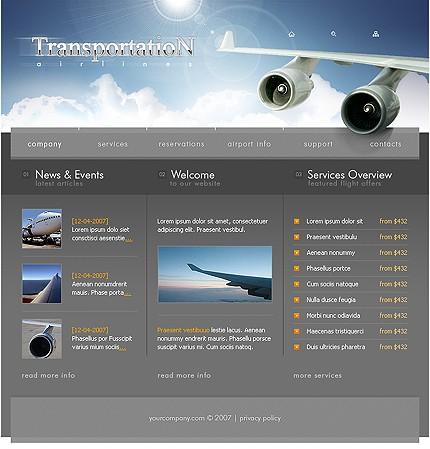 web design tutorial  companie aeriana