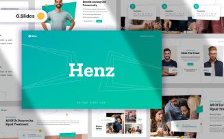 Henz Business Google Slides