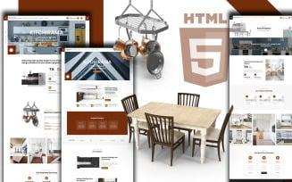 Kitchirama - Kitchen Design And Shop Website Template