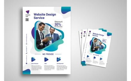 Flyer Corporate Service Corporate Identity