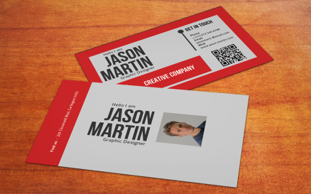 Redo - Business card V1 Corporate Identity