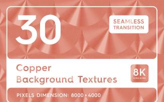 30 Copper Textures