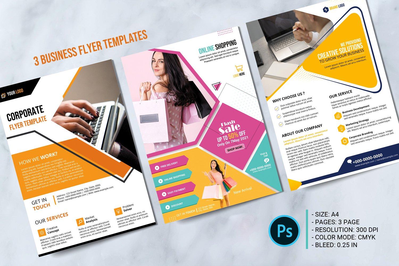 """Unternehmensidentität Vorlage namens """"Business Flyer"""" #152210"""