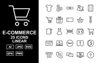 25 Premium E-Commerce Linear