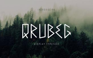 Qrubeg - Display DR