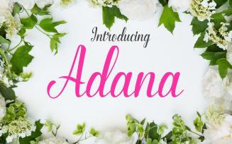 Adana Script