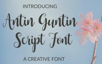Antin Guntin Script