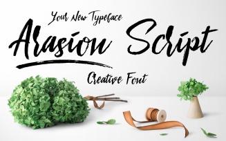 Arasion Script