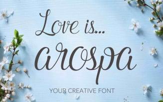 Arospa Script