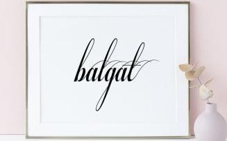 Balgat Font