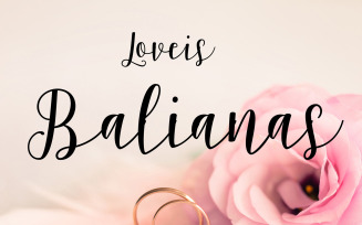 Balianas Font