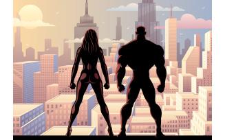 Superhero Couple Watch Day 2
