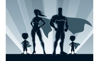 Superhero Family 2 Boys