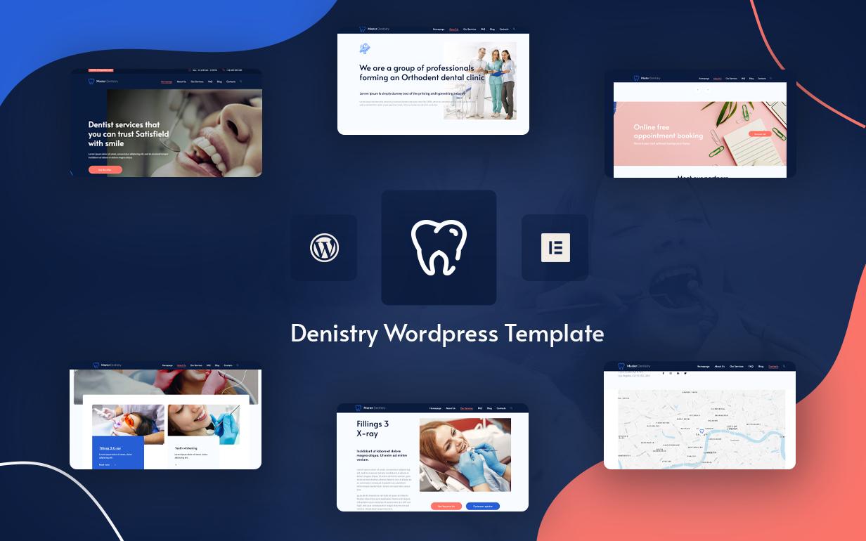 MasterDentistry - Dental & Medical Elementor WordPress Theme