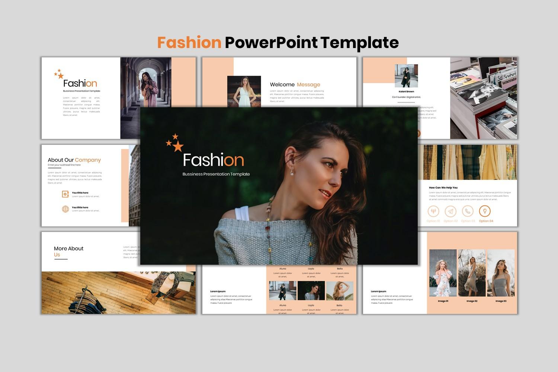 Premium Fashion - Creative Business Google Slides #152667