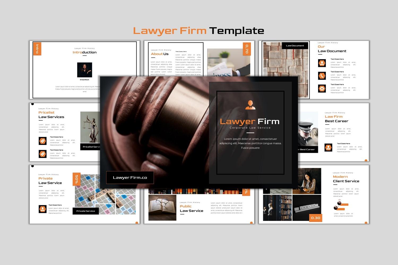 Premium Lawyer Firm - Creative Business Google Slides #152666