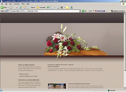 funeral services website template #15305wt - website templates, Powerpoint templates