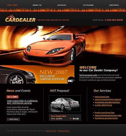 Relizare site prezentare dealer auto