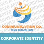 Communications Corporate Identity Template 15332