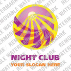 Night Club Logo  Template 15337