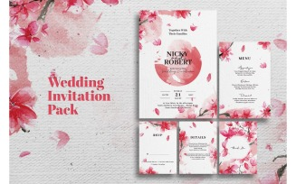 Wedding Invitation Sakura