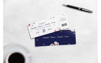Boarding Pass Flower of Paradise
