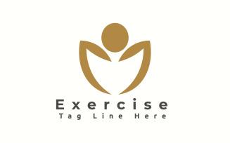 Exercise Logo Template