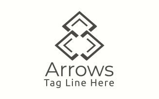 Arrows Logo Template