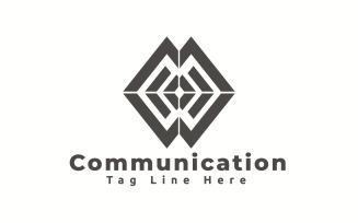 Communication Logo Template