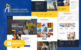 Constructr - Construction Industry WordPress Elementor Theme