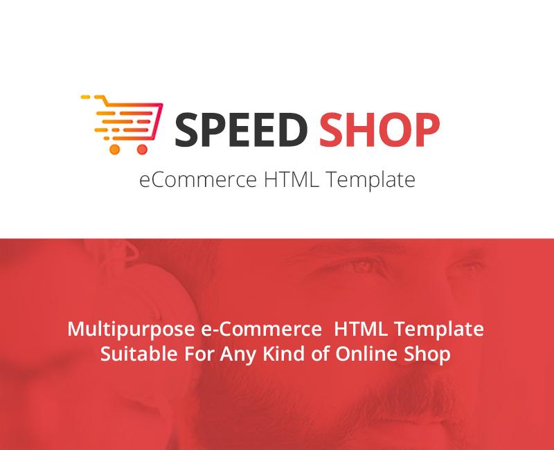 """Bootstrap Šablona webových stránek """"SpeedShop Ecommerce"""" #153395"""
