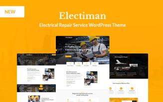 Electiman - Electrical Repair Service WordPress Theme