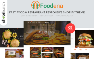 Foodena - Fast Food & Restaurant Responsive Shopify Theme