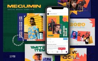 Megumin Social Media
