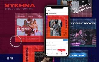 Sykhna Social Media