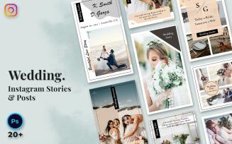Wedding Instagram Stories & Posts