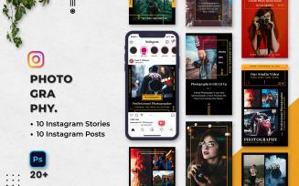 Photography Instagram Stories & Posts