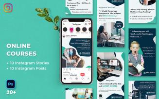 Online Course Instagram Stories & Posts