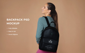 Backpack Product Mockup