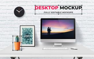 Desktop Product Mockup