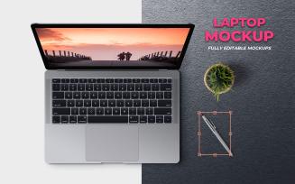 Laptop Product Mockup