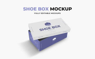 Shoe Box product mockup