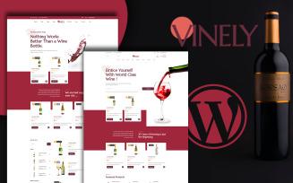 Vinely - Wine Shop WooCommerce Theme