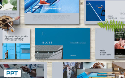 BLOES Presentation PowerPoint Template