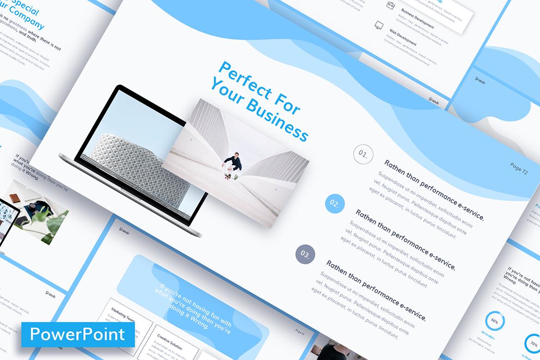 GRANDE  Presentation PowerPoint Template
