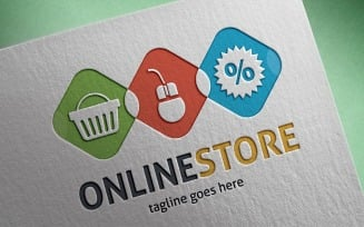Online Store Logo Template
