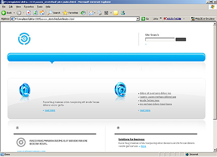 Website Template #15416